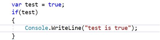 instrukcja warunkowa if C#